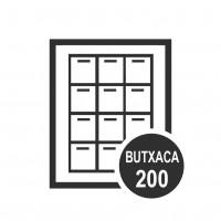 Calendari Butxaca 200u.